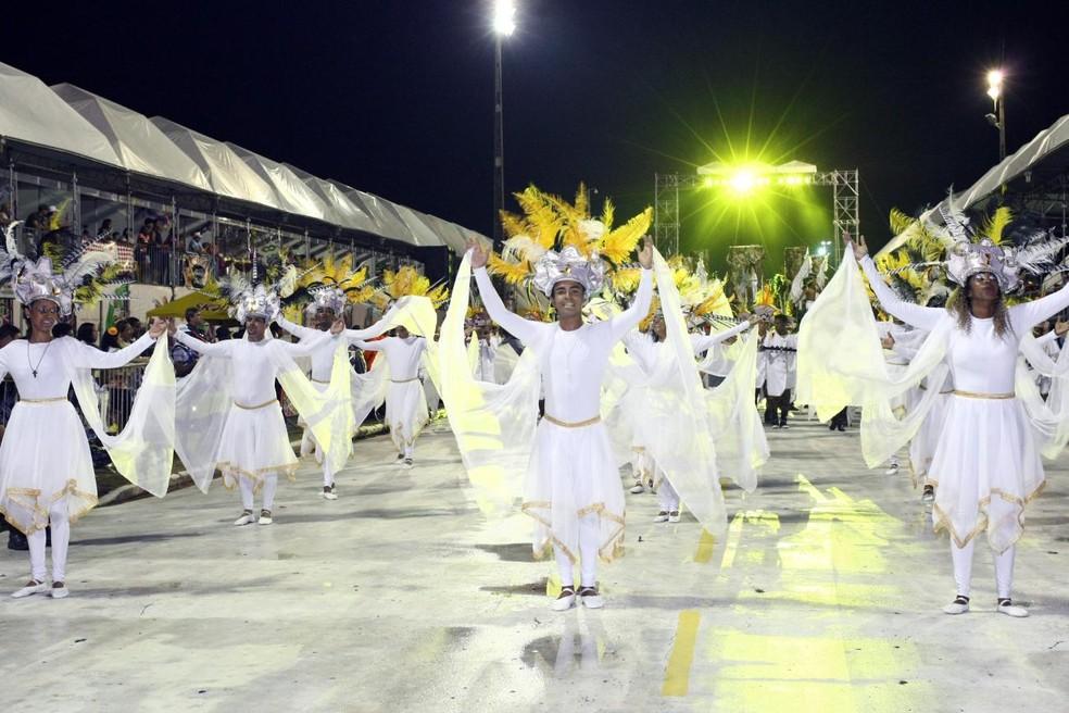 Prefeitura divulgou a programação do carnaval na passarela do samba, em São Luís (Foto: Reprodução/TV Mirante)