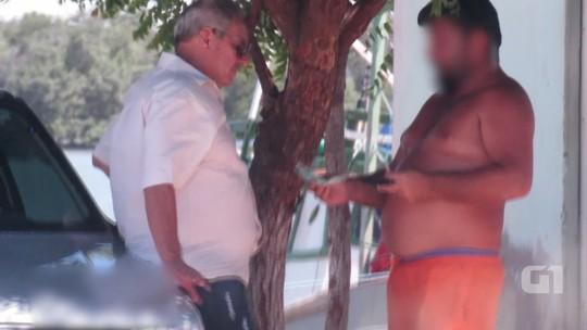 Vídeo mostra chefe do Ibama preso pela PF recebendo propina em Mossoró