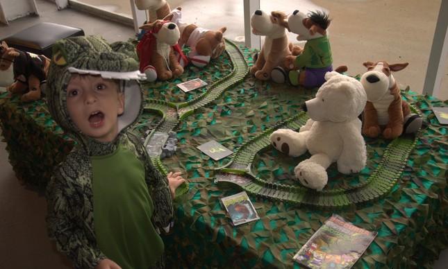 Colônia de Feras: diversão para crianças