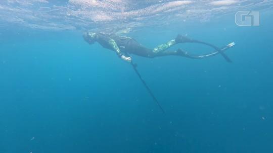 Aos 71 anos, mergulhador 'desliga' da realidade com ajuda dos pulmões; VÍDEO mostra como o corpo reage à apneia