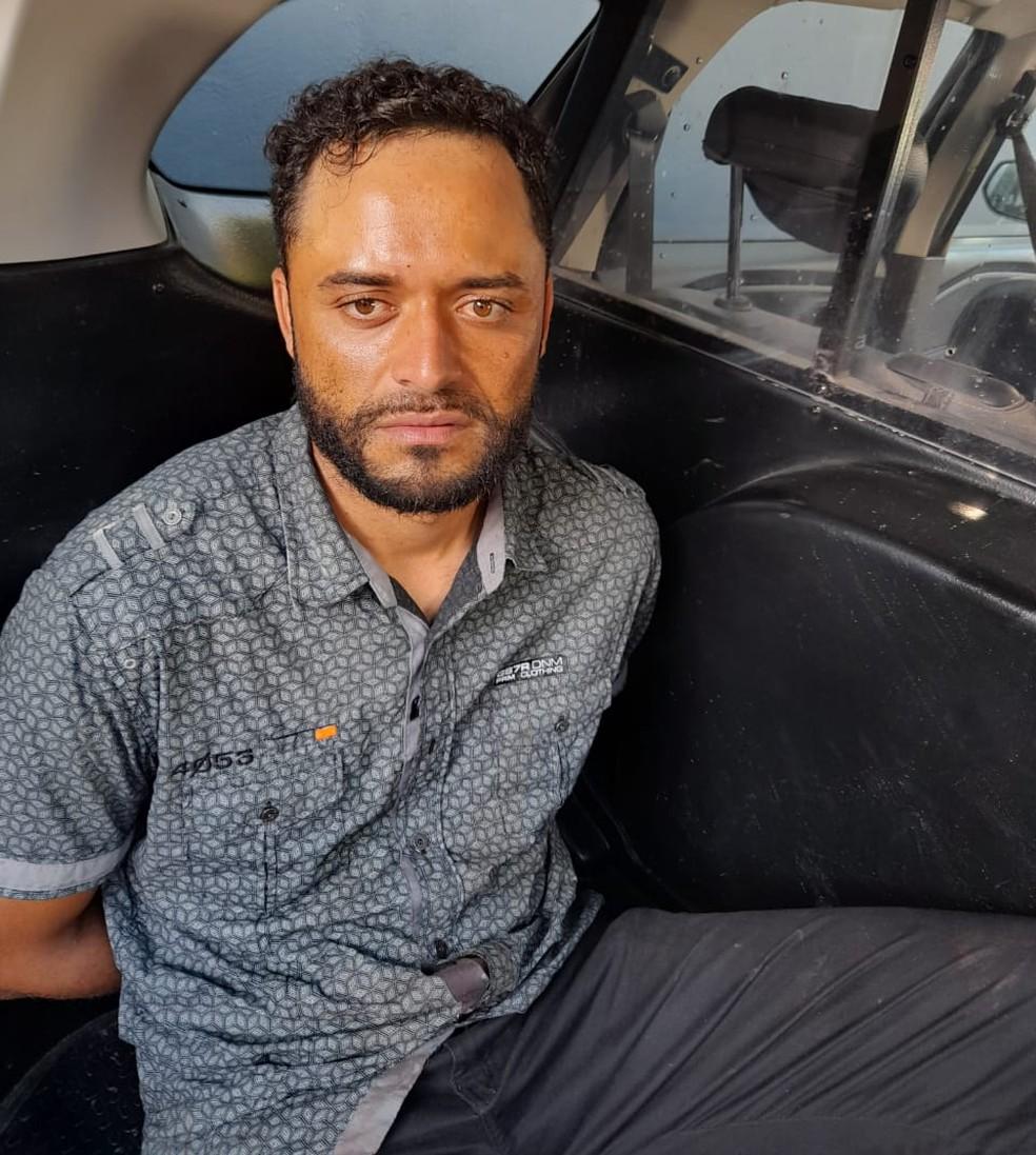Segundo a polícia, Diego Wellington da Cunha esfaqueou, atropelou e atirou contra ex em Suzano — Foto: Polícia/Divulgação