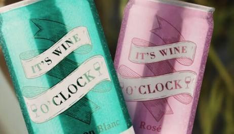 It's Wine O'Clock Sauvignon Blanc e Rosé