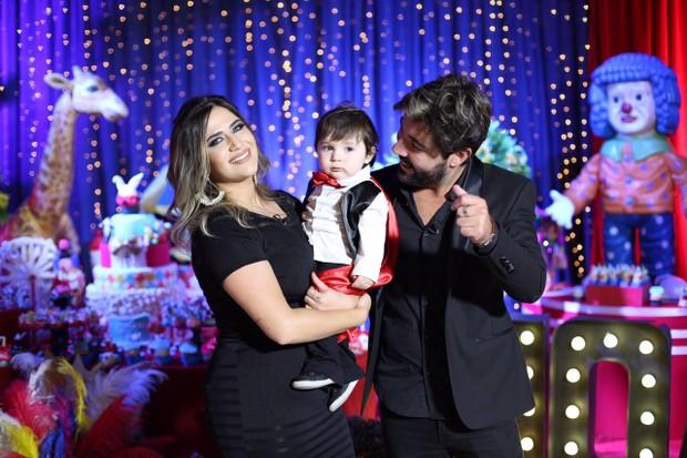 Aniversário de Noah, filho de Sandro Pedroso e Jessica Costa (Foto: Thalita Castanha / Divulgação)