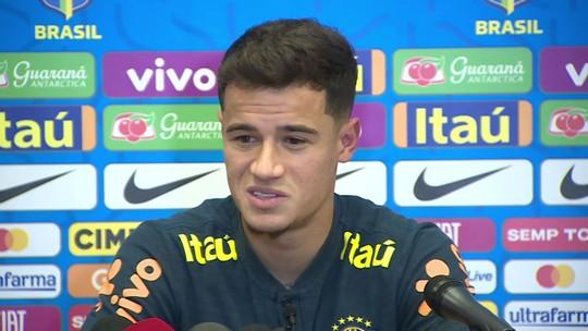 """Coutinho se anima com possível ida de Neymar e Griezmann ao Barcelona: """"Prazer enorme"""""""