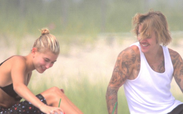 Justin Bieber e Hailey Baldwin (Foto: The Grosby Group)