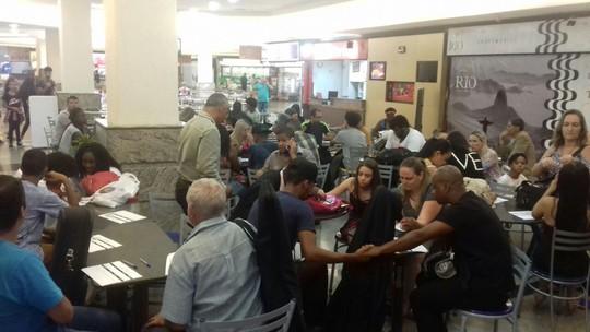 Programa 'Domingão do Faustão' busca novos talentos em shopping de Nova Friburgo, no RJ