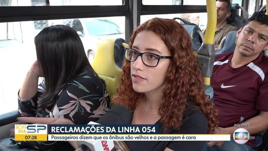 Problemas nos ônibus da EMTU