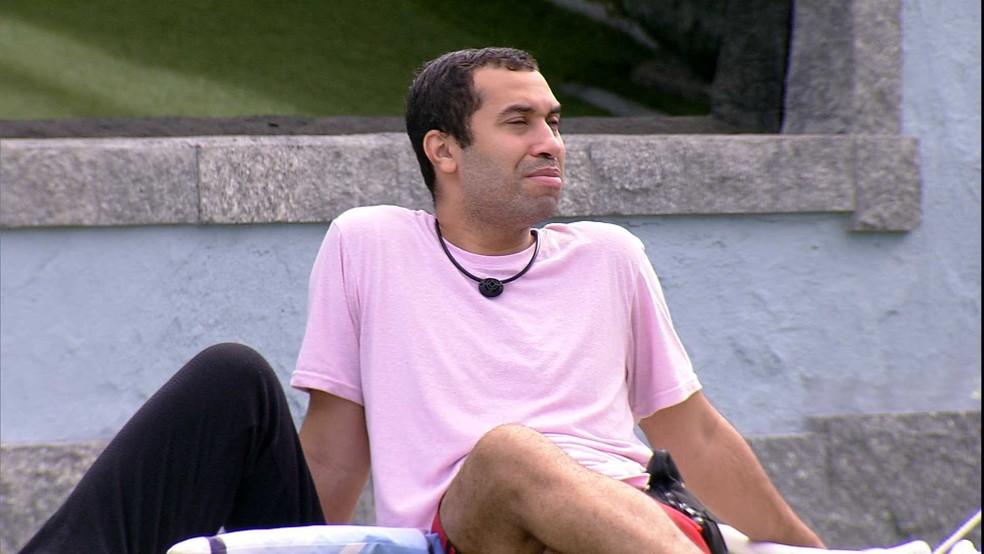 Gilberto agradece sister: 'No Jogo da Discórdia você não me apontou' — Foto: Globo