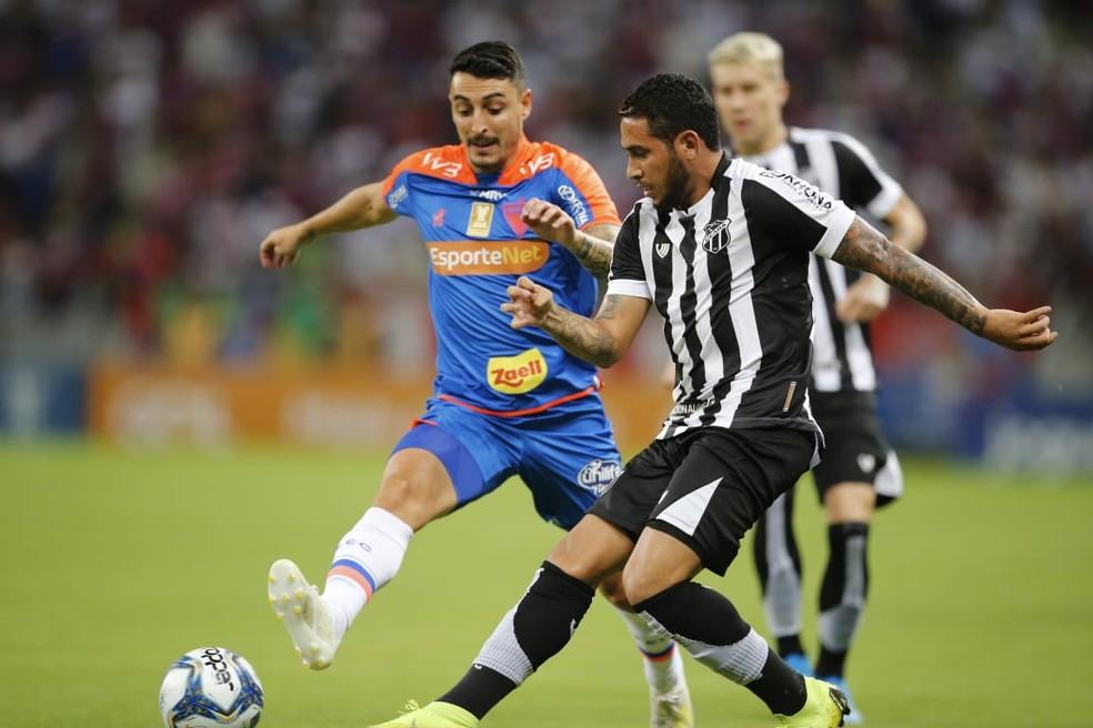 Campeonato Cearense ainda não tem data definida para a retomada — Foto: Thiago Gadelha / SVM