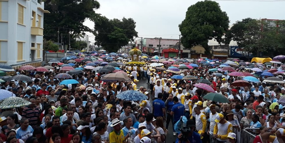 ciriomaraba - 38º Círio de Nazaré leva milhares de devotos às ruas de Marabá, sudeste do Pará