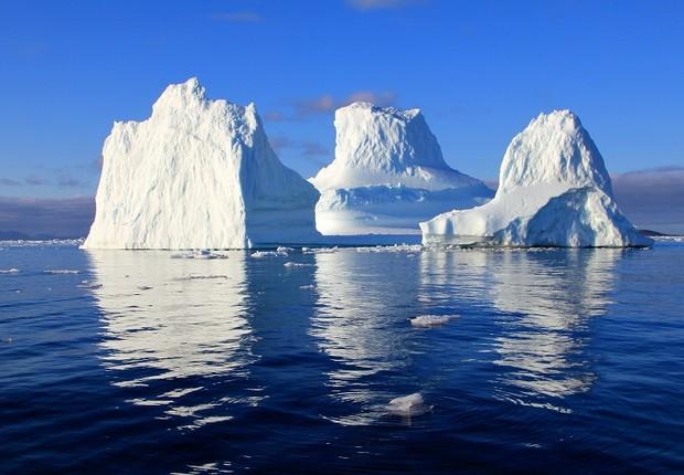 iceberg - gelo - oceano (Foto: Pexels)