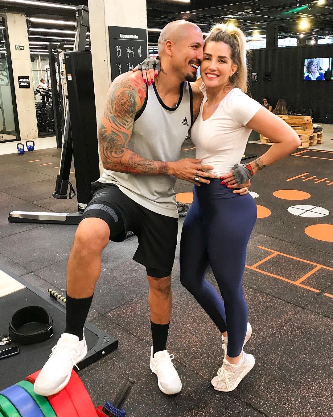Fernando Medeiros e Aline Gotschalg (Foto: Reprodução/Instagram)