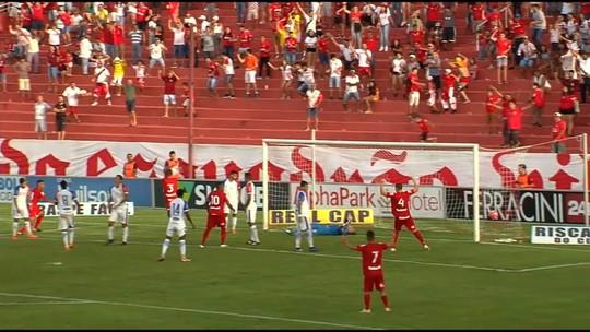 Baptista lamenta gol sofrido e cita falta de concentração do Vila contra o Itumbiara