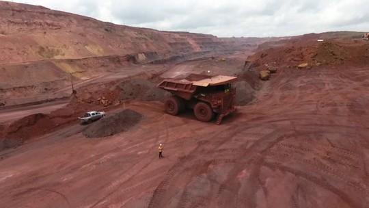 Reciclagem de peças de caminhões usados na mineração gera emprego em Parauapebas