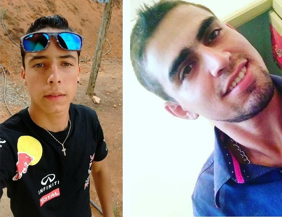 William Martins (à esq.) e Cecílio Correa Junior (à dir.) (Foto: Reprodução/Facebook)