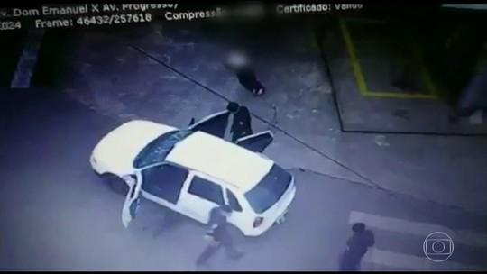 Após divulgação de vídeo, PM admite que policial errou ao entrar em carro roubado e atirar em para-brisa