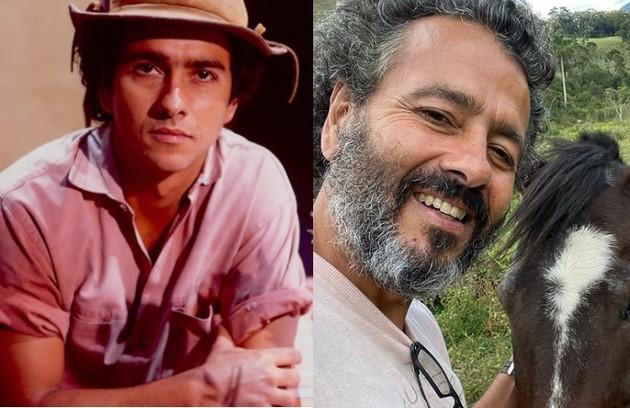 Marcos Palmeira foi João Pedro, caçula de José Inocêncio que é rejeitado pelo pai. O ator está escalado para 'Pantanal' (Foto: Reprodução)
