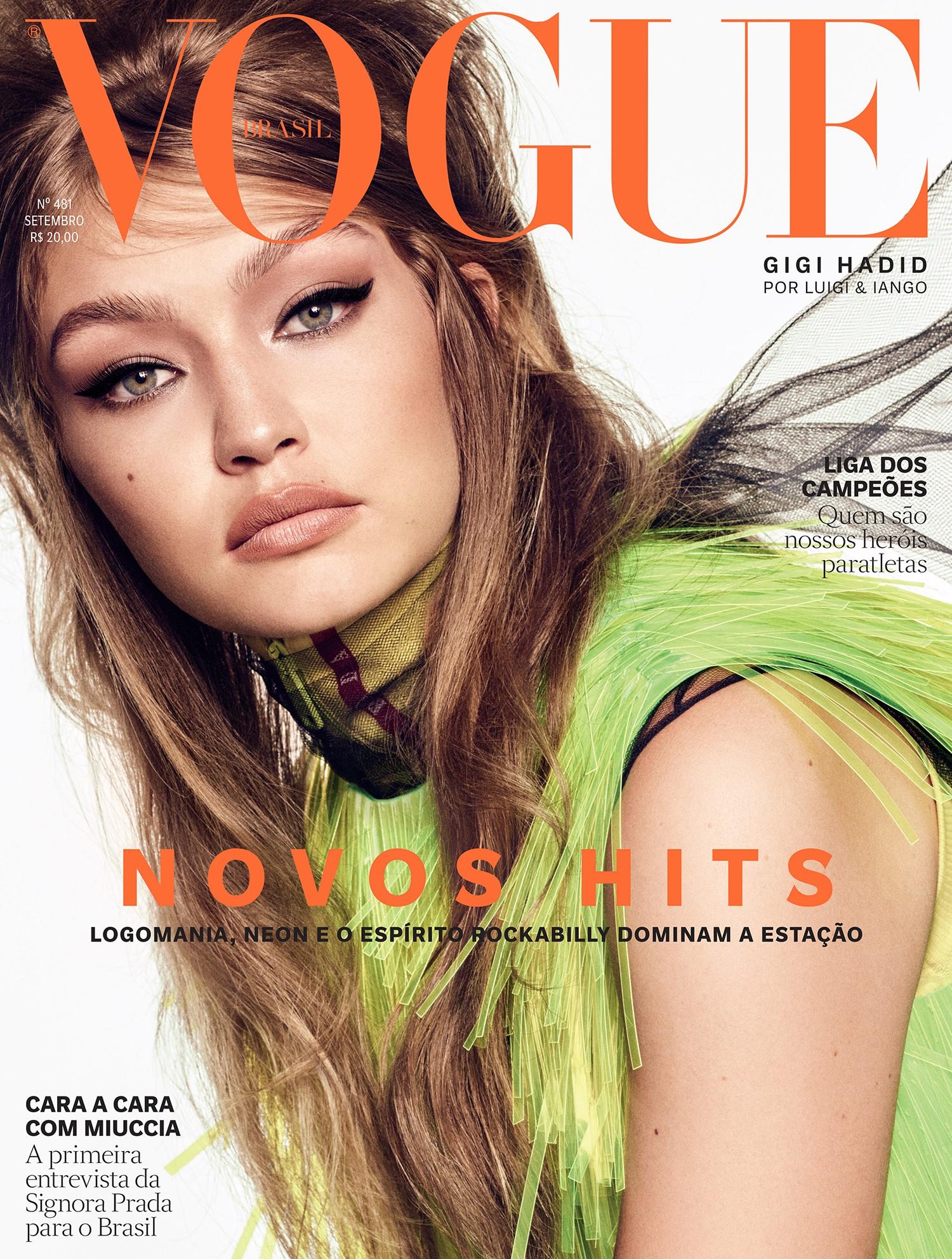 Vogue Brasil Setembro 2018 (Foto: Vogue Brasil )