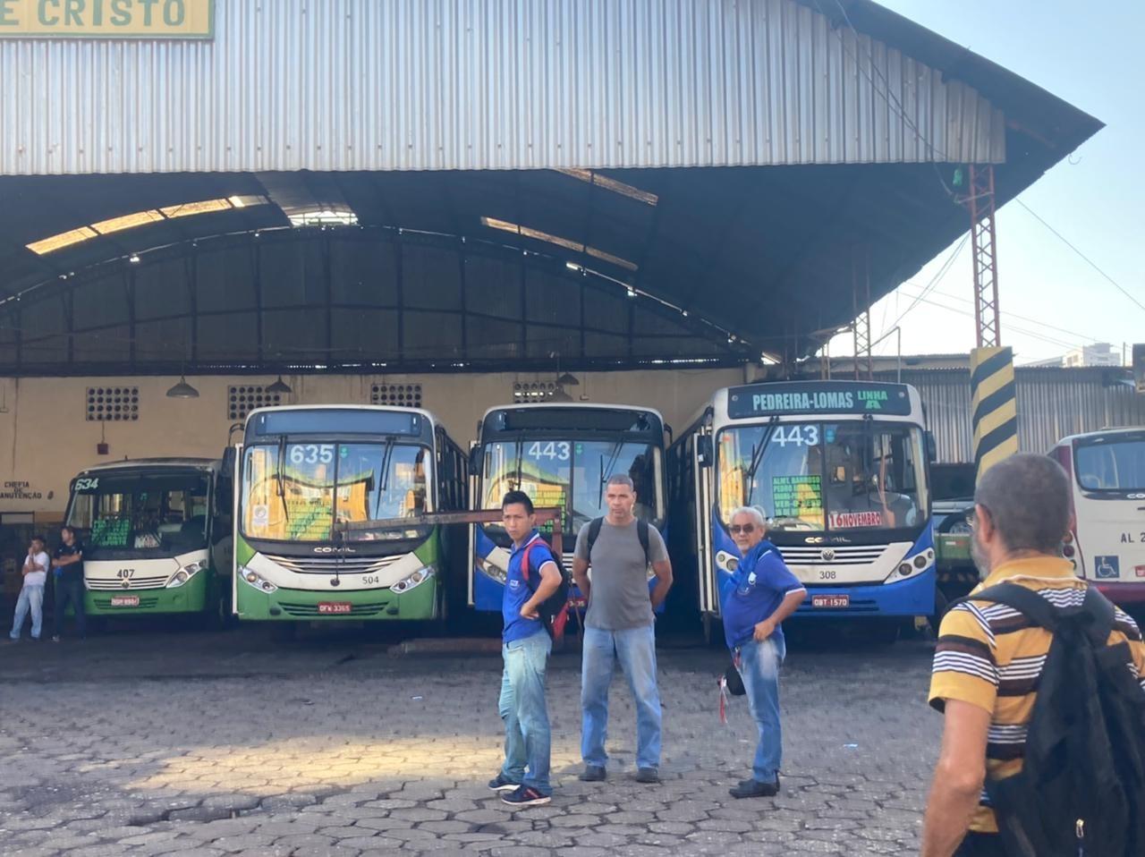 Rodoviários encerram paralisação de 8 linhas de ônibus em Belém