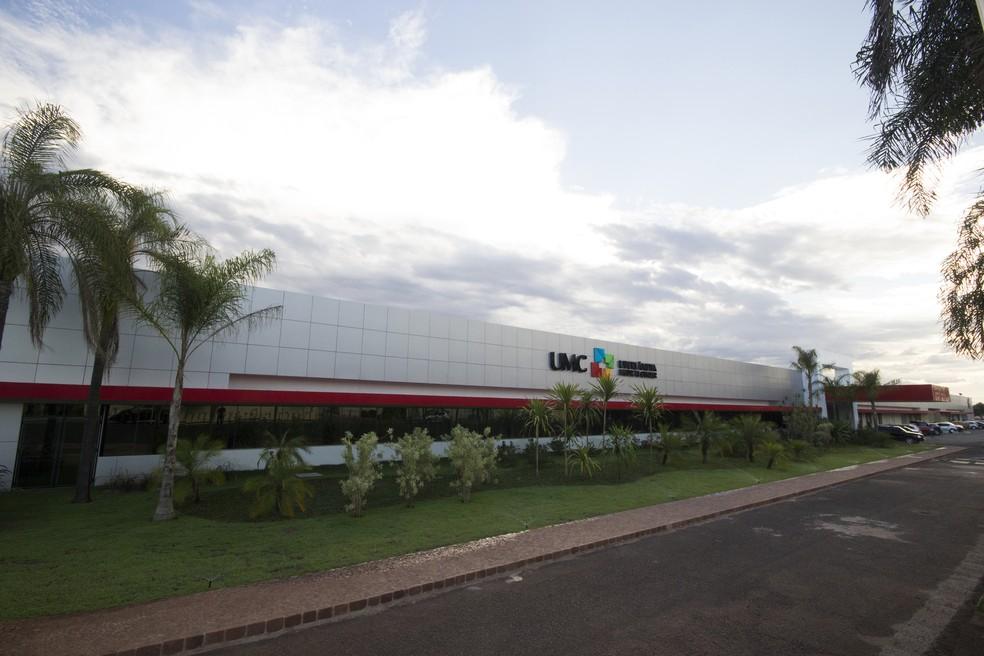 Hospital UMC em Uberlândia — Foto: Divulgação/GA Comunicação