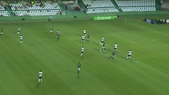 Trio sai do banco e dá novo fôlego ao Coritiba em empate com o Maringá; veja as notas