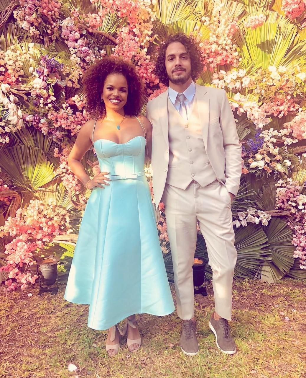 Jeniffer Nascimento e Jean Amorim (Foto: Reprodução/ Instagram)