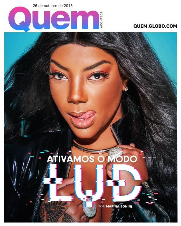 Ludmilla é Capa da QUEM dessa semana (Foto:  )