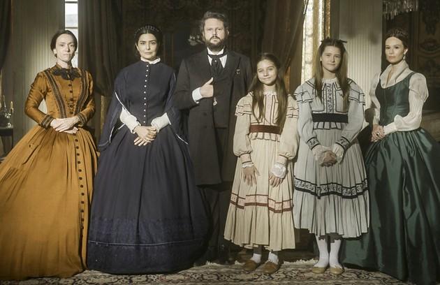 """A mudança de fase de """"Nos tempos do Imperador"""" está prevista para ir ao ar nesta segunda-feira (20) (Foto: TV Globo)"""