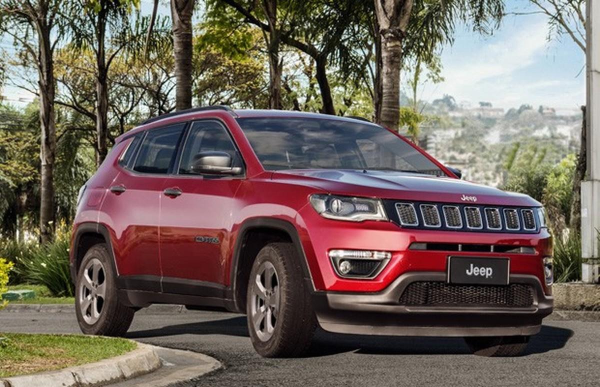 Jeep Compass J U00e1  U00e9 O Suv Mais Vendido Do Brasil No Acumulado Do Ano