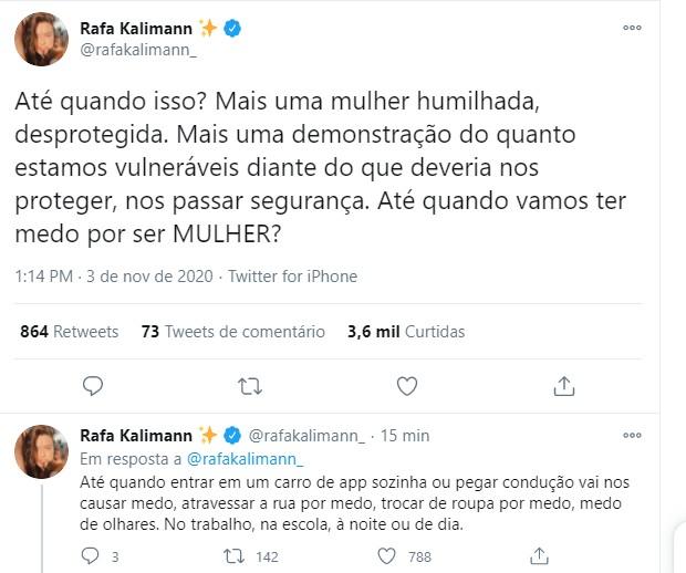 Rafa Kalimann posta sobre Mariana Ferrer (Foto: Reprodução/Instagram)