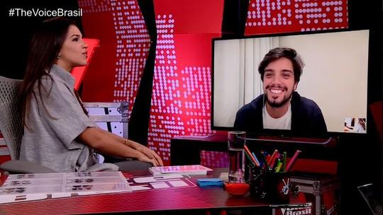 Rodrigo Simas e Mariana Rios comentam as Batalhas do 'The Voice Brasil'