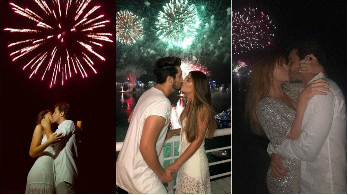 Réveillon 2019 Casais Fazem Declarações De Amor Na Festa Da
