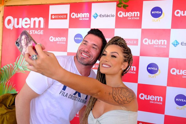 Bianca Andrade e Rodrigo Sangion (Foto: Renato Wrobel)