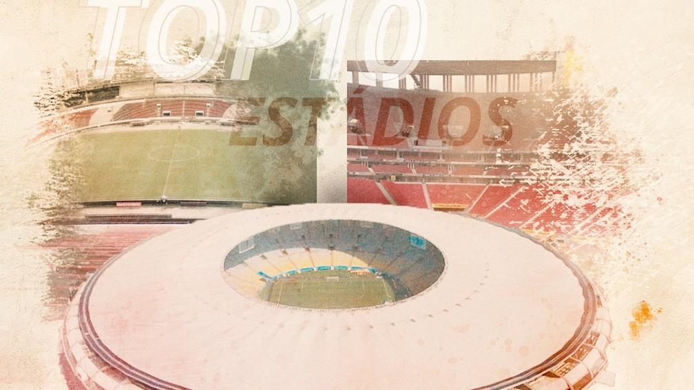 Lista GE #2 Estádios — Foto: Info Esporte