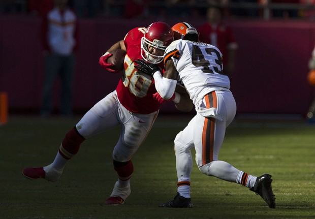 Cleveland Browns contra Kansas City Chiefs (Foto: David Welker/Getty Images)