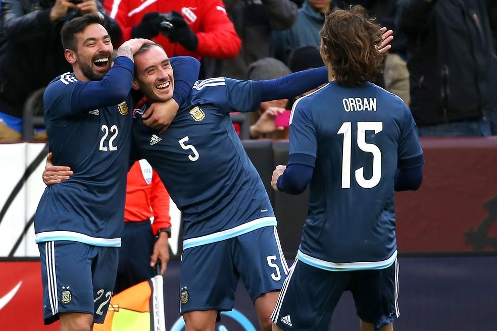 Federico Mancuello tem duas passagens pela seleção argentina (Foto: Reprodução / Facebook)