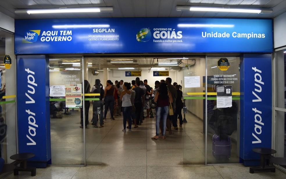 Edital prevê que sejam criadas mais 40 unidades do Vapt Vupt (Foto: Paula Resende/ G1)