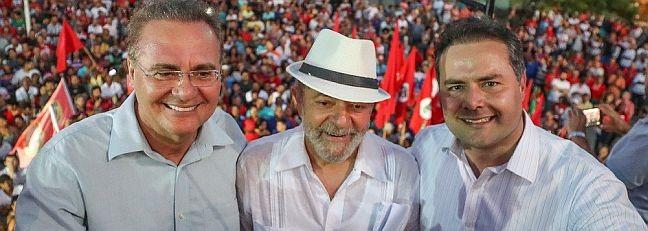 Renan Calheiros, Lula e Renan Filho