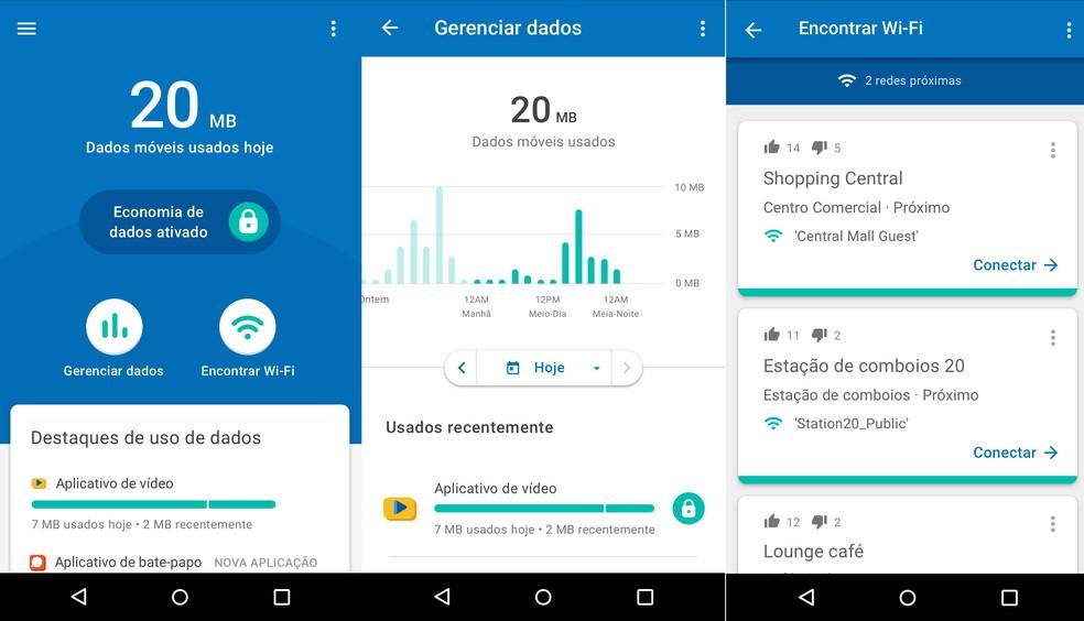 Datally aplicativo que controla consumo de internet móvel em smartphones