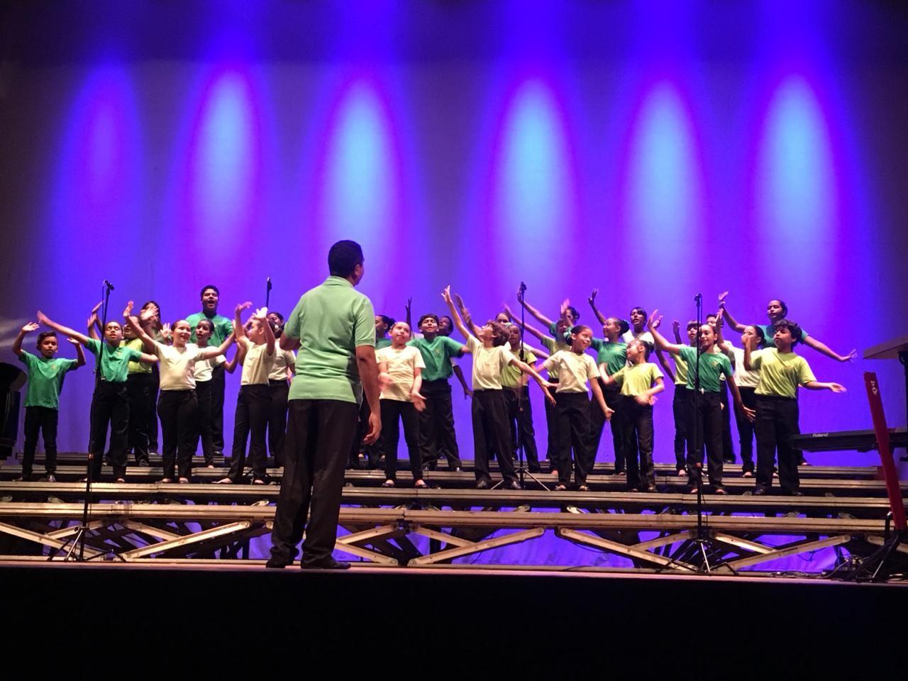 Coral Infantil do Liceu apresenta concerto no Teatro da Instalação, em Manaus, nesta sexta-feira (20) - Notícias - Plantão Diário