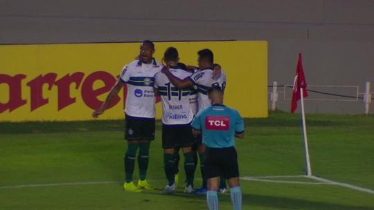 Gol do Coritiba nos acréscimos salva Guarani de perder vantagem sobre a zona de rebaixamento
