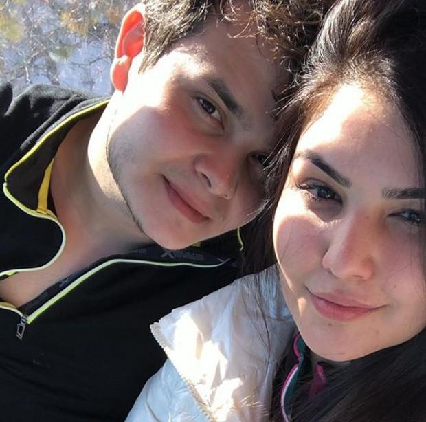 Matheus e Paula Aires (Foto: Arquivo Pessoal)