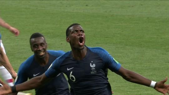Assista aos gols da vitória da França sobre a Croácia por 4 a 2