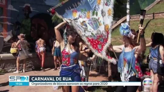 Megablocos deverão ter plano de segurança para o carnaval de rua em SP