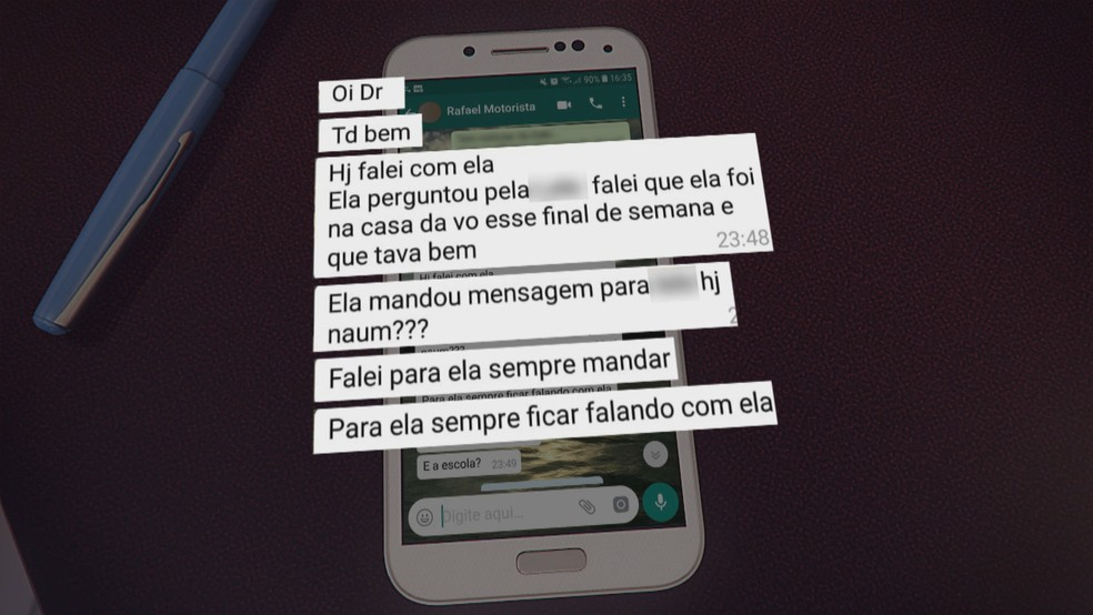 Motorista que matou médica no DF enviou mensagens para família da vítima depois do crime  — Foto: TV Globo/Reprodução