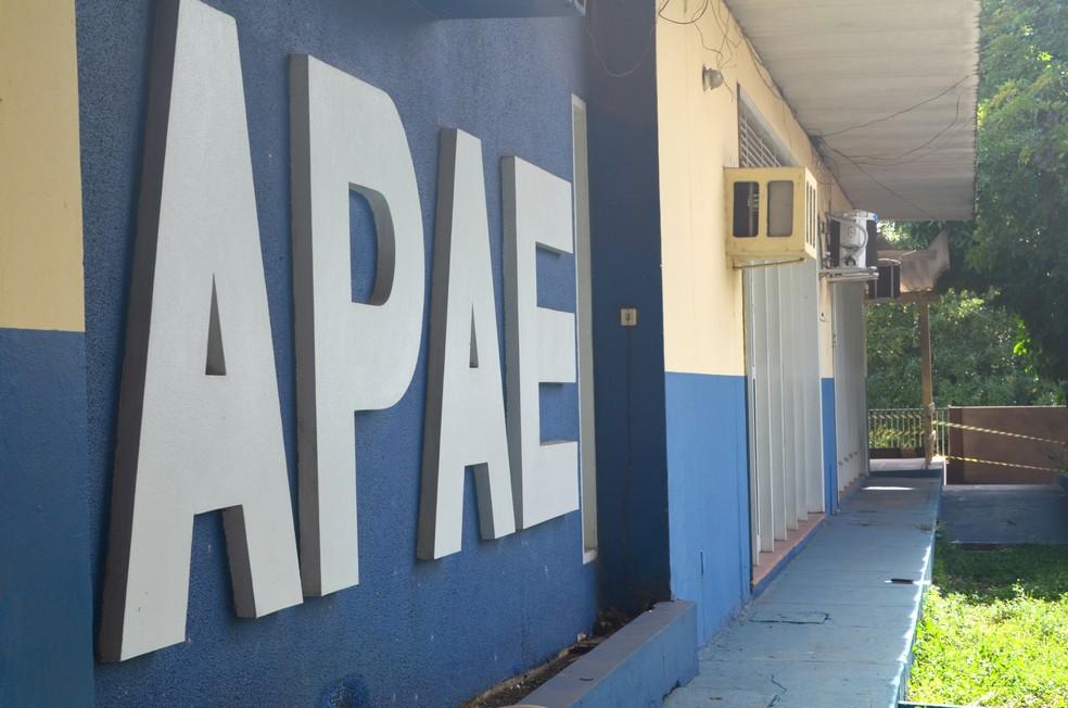 Associação de Pais e Amigos Excepcionais (APAE) em Santarém — Foto: Fábio Cadete/G1/Arquivo