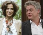 Mariana Lima e Fabio Assunção | TV Globo