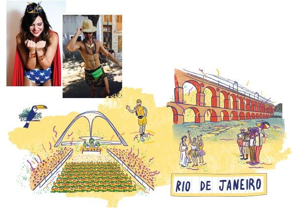 Rio de Janeiro (Foto: Divulgação / Ilustração Lovatto)