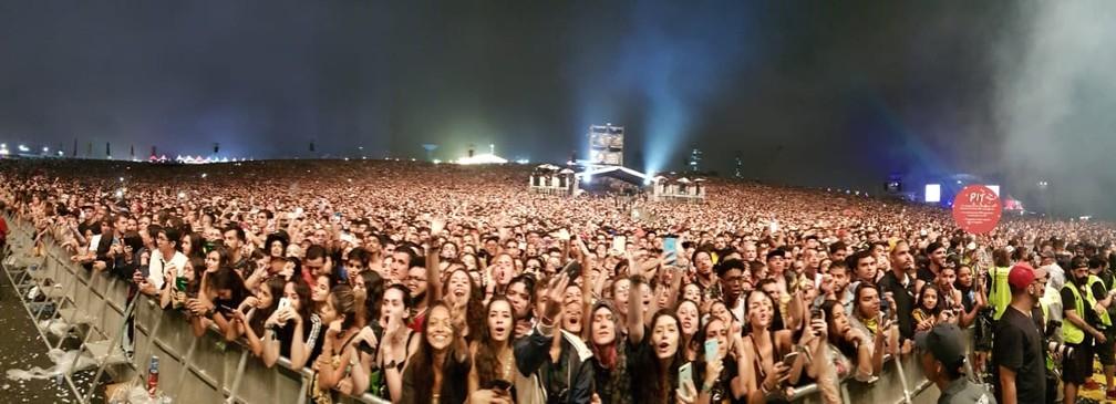 Público do Lollapalooza — Foto: Fabio Tito/G1