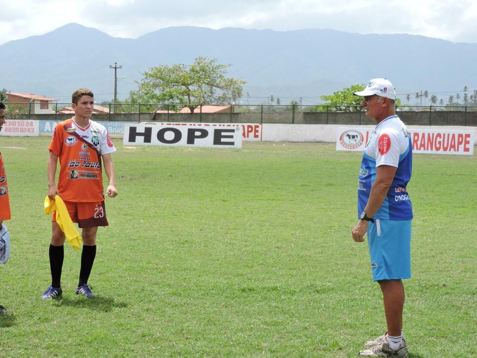 Mastrillo Veiga trabalhou no Maranguape em 2015 e assume o Potiguar nesta sexta-feira (Foto: Tom Alexandrino)